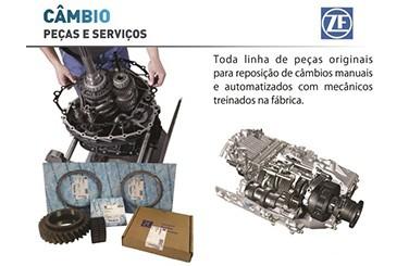 Eletroturbo ZF Cambio em Goiania e Rio Verde - GO . Transmissao